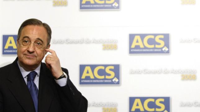 El presidente del Real Madrid, Floreitno Pérez.