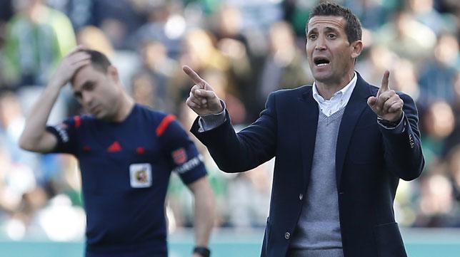 Juan Merino, entrenador del Nástic de Tarragona.