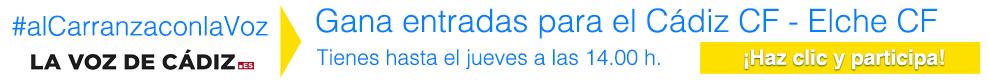 Sorteo de entradas para el Cádiz CF - Elche CF