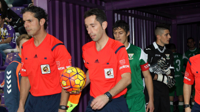 Sagués Oscoz arbitrará el Cádiz CF-Elche.