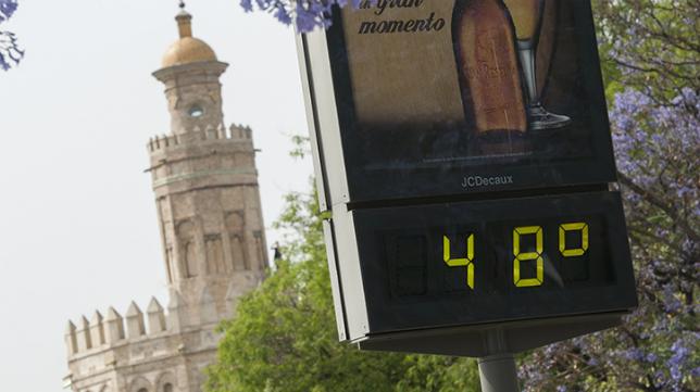 El calor está siendo protagonista en los últimos días en Sevilla