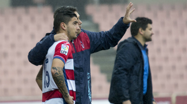 Tomás ha jugado a gran nivel en el filial del Granada.
