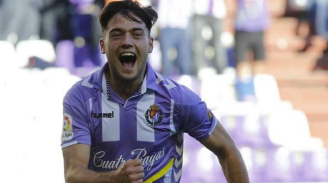 El jugador del Valladolid José Arnaiz.