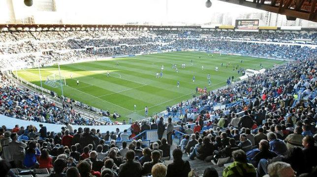 La directiva del Zaragoza quiere un gran ambiente este viernes en su estadio.