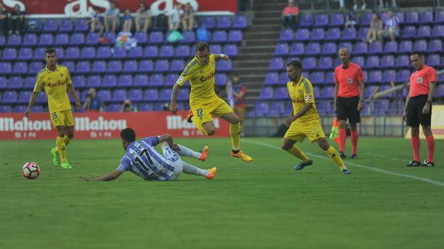 Imaz salió de principio en Valladolid.