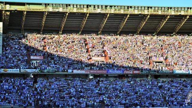 El Valladolid espera una gran entrada ante el Cádiz CF en Zorrilla.