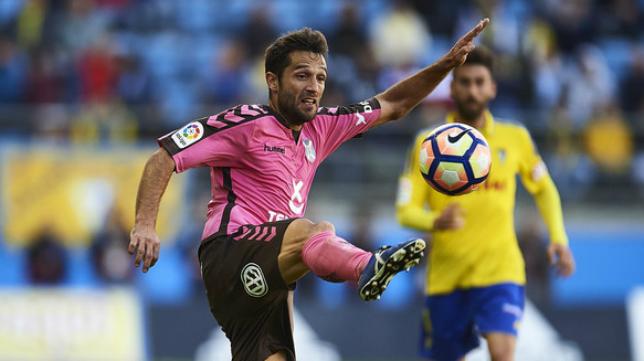 Aitor Sanz, centrocampista madrileño del Tenerife.