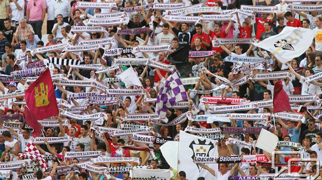 El Albacete estará arropado en Cádiz.