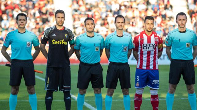 Arcediano Monescillo, que pitó en Montilivi, será el árbitro este jueves en Carranza.