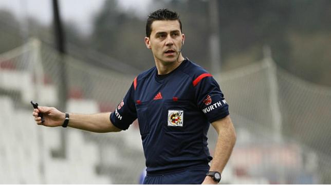 Arias López arbitrará el Valladolid-Cádiz CF.