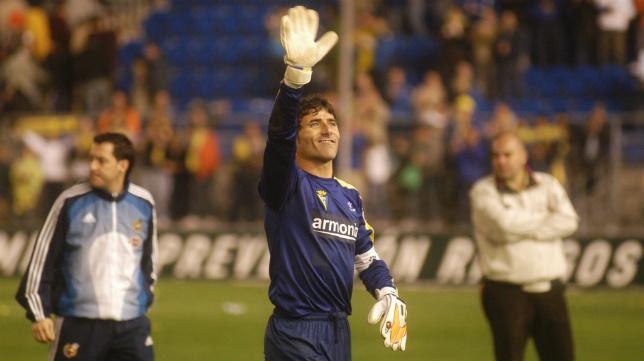 Armando, en su etapa en el Cádiz CF.