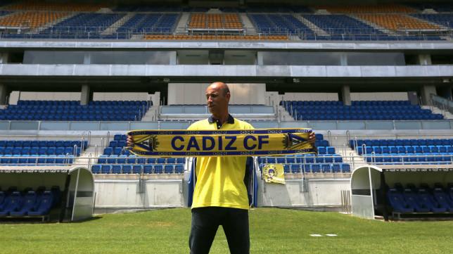 Antonio Calderón, exjugador y ex entrenador del Cádiz CF.