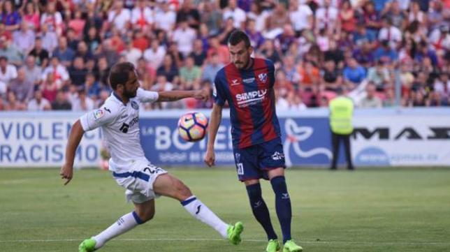 El Getafe salió victorioso de Huesca.