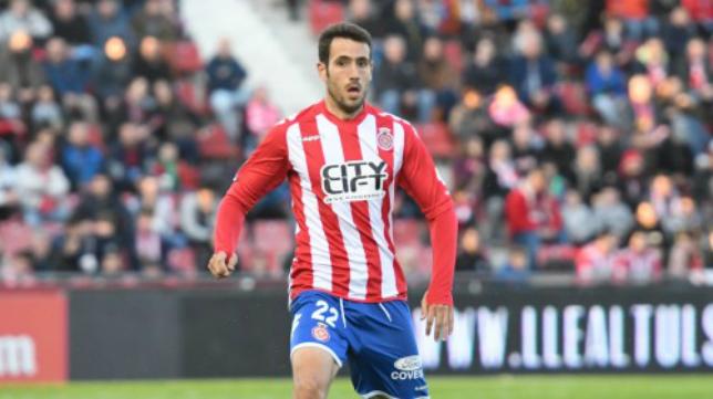 El central malagueño Kiko Olivas. Foto: Girona FC.