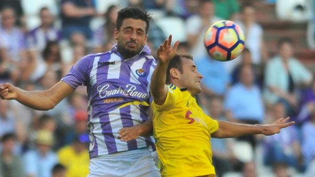 Santamaría fue titular el pasado sábado en Pucela.