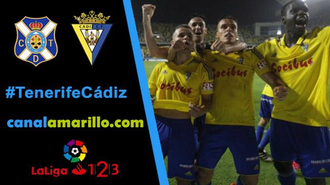 El pase a la final del play off lo busca el Cádiz en Tenerife