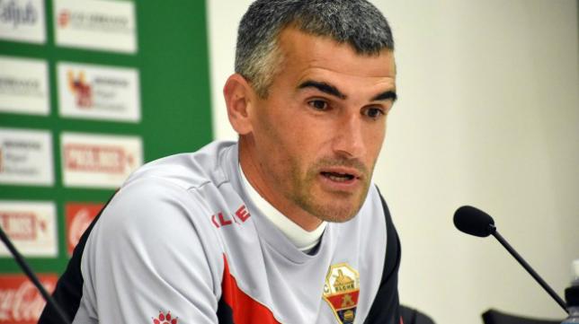 Vicente Parras, entrenador del Elche.