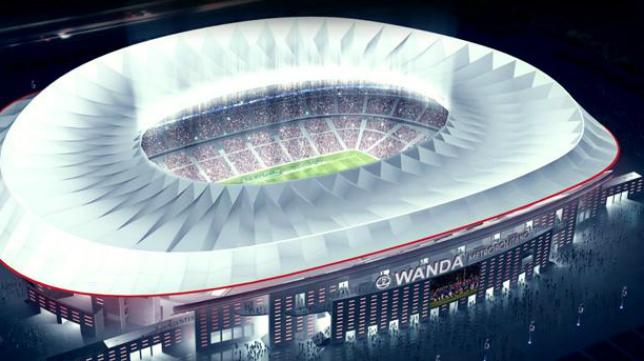 El Wanda Metropolitano, posible sede de una innovadora 'Final Four'.