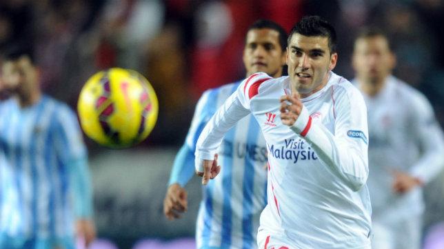 José Antonio Reyes en su etapa en el Sevilla FC