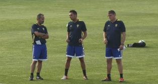 Álvaro Cervera, Roberto Perera y Javier Manzano.