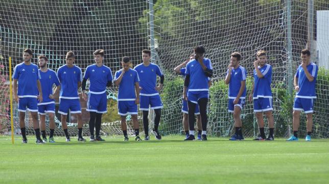 El Cádiz CF B inició los entrenamientos de la pretemporada. Foto: Cádiz CF.