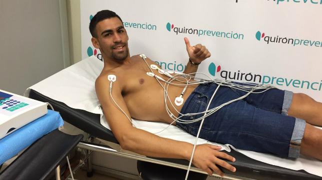 Dani Romera ya ha pasado el reconocimiento médico con el Cádiz CF. Foto: Cádiz CF.