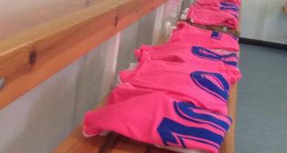 Camisetas preparadas en el vestuario del La Manga Club (Foto: Cádiz CF)