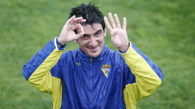 Juanito Marchante lleva 25 años ligado al Cádiz CF