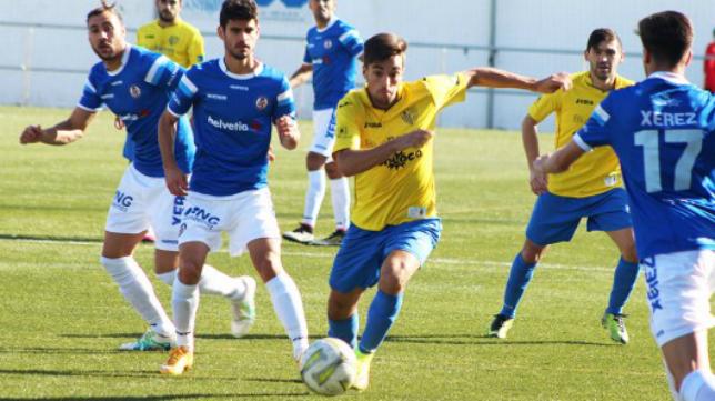 Mario Sánchez (ex Conil), nuevo jugador del Cádiz CF B. Foto: Cádiz CF.