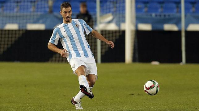 Mikel Villanueva jugará en el Cádiz CF. Foto: Málaga CF.