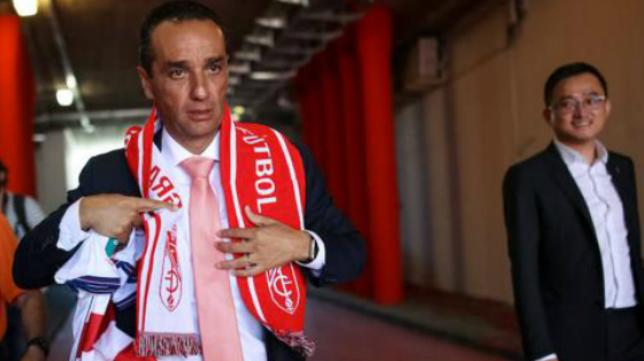 Oltra, entrenador del Granada. Foto: Ideal.