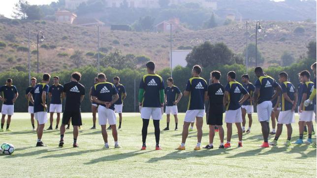 Último entrenamiento del Cádiz en La Manga (Foto: Cádiz CF)