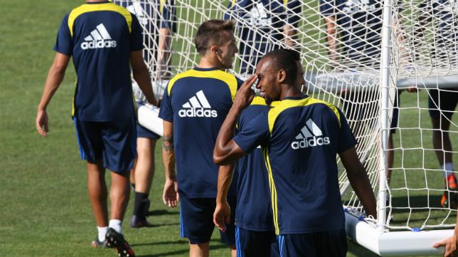 Abdullah ha regresado a los entrenamientos.