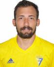 Aitor, jugador del Cádiz CF.