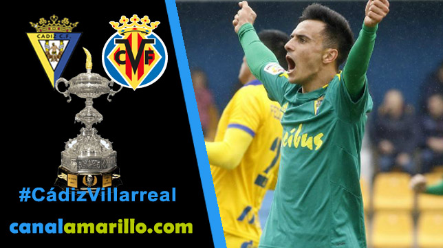 Cádiz y Villarreal juegan la consolación del Trofeo Carranza