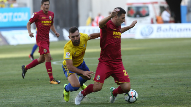 David Barral falló un penalti ante el Villarreal.
