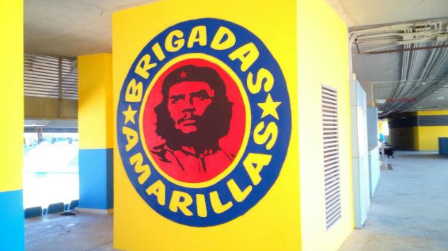 La imagen del Che, en los bajos de fondo sur.
