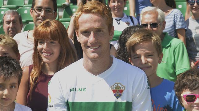 Álex Fernández llegó en septiembre del pasado año al Elche.