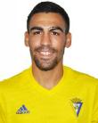 Dani Romera, jugador del Cádiz CF.