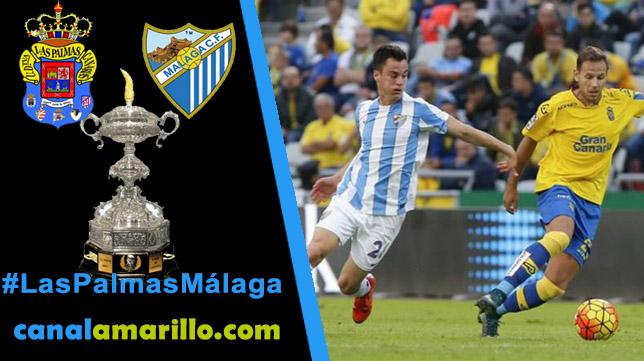 Las Palmas y Málaga juegan la final del Trofeo Carranza