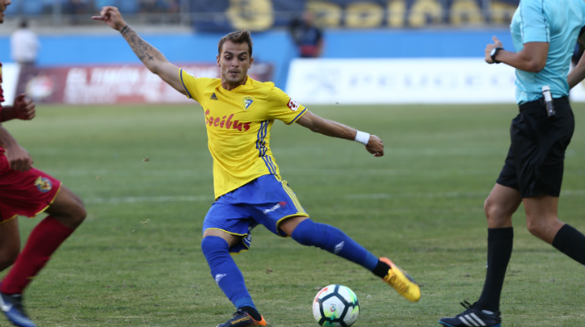 Jesús Imaz jugó media temporada en el Cádiz CF.