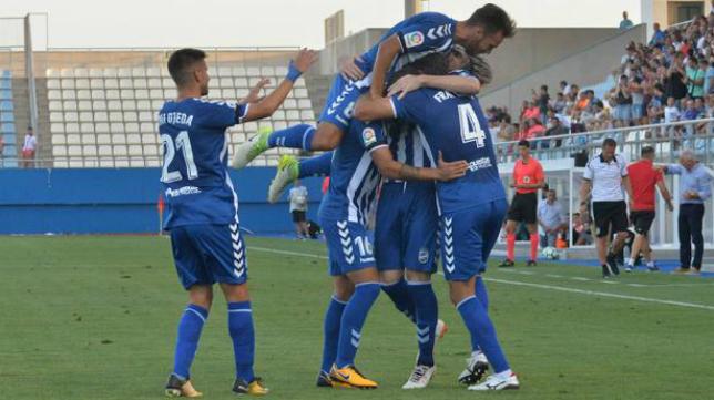 El Lorca comenzó la temporada con una victoria sobre la Cultural Leonesa (2-0). Foto: La Verdad.