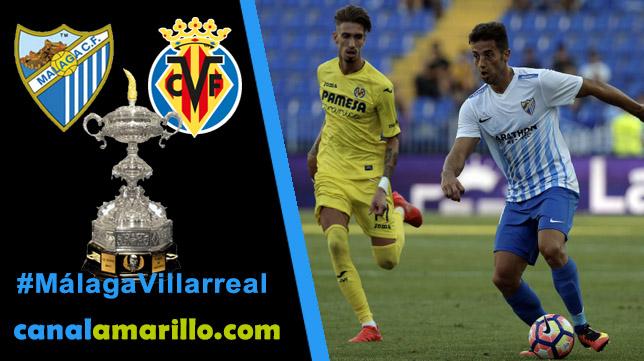 Málaga y Villarreal buscan un puesto en la final