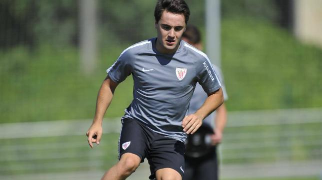 Unai López llega cedido por el Athletic al Rayo Vallecano. Foto: El Correo.