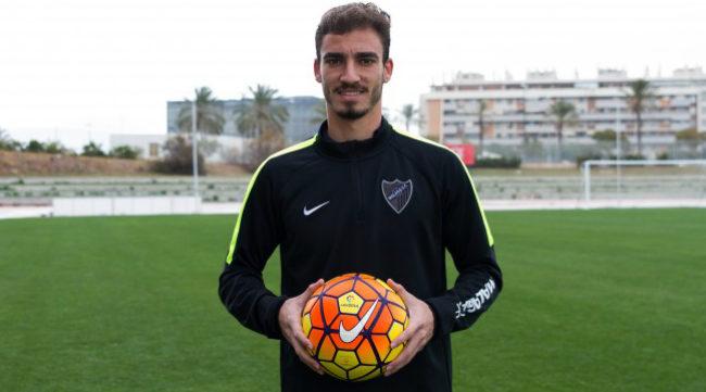 Mikel Villanueva podría ser jugador del Cádiz CF (Foto: Málaga CF)