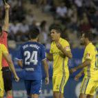 El Cádiz CF no estuvo fino en el Artés Carrasco de Lorca.