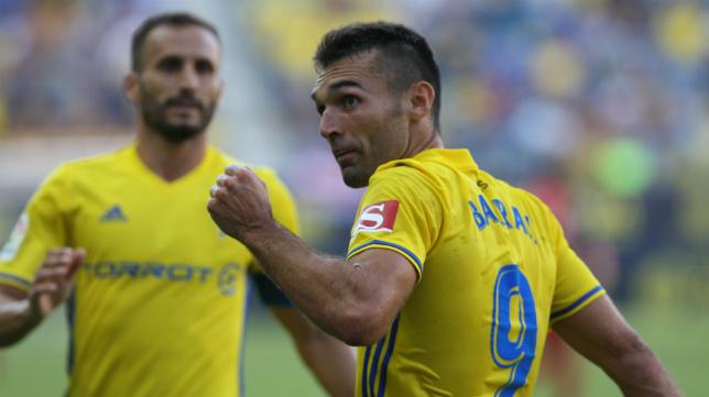 Barral ya lleva dos goles en el Cádiz CF.