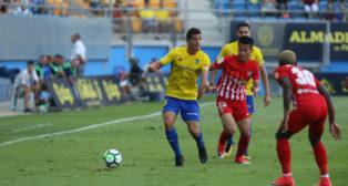 Garrido, el mejor del Cádiz CF-Almería.