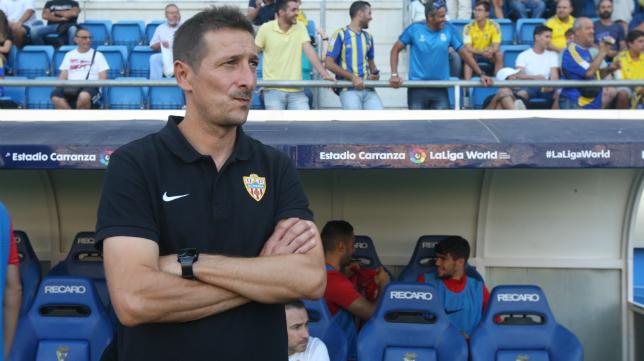 Luis Miguel Ramis, ex entrenador del Almería.