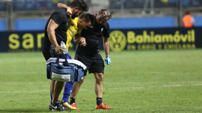 Álvaro García, lesionado en alguna ocasión.